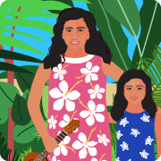 Two Hawaiian Sisters